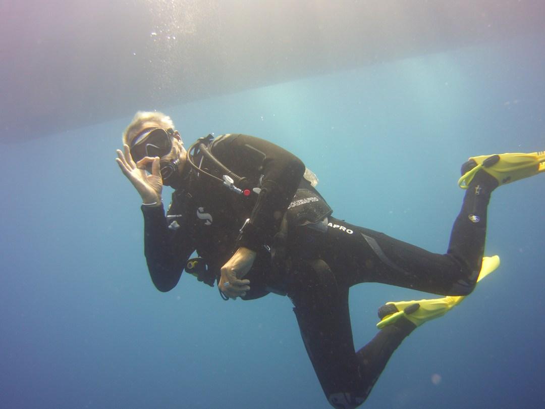 Diving the Zenobia wreck in Larnaca
