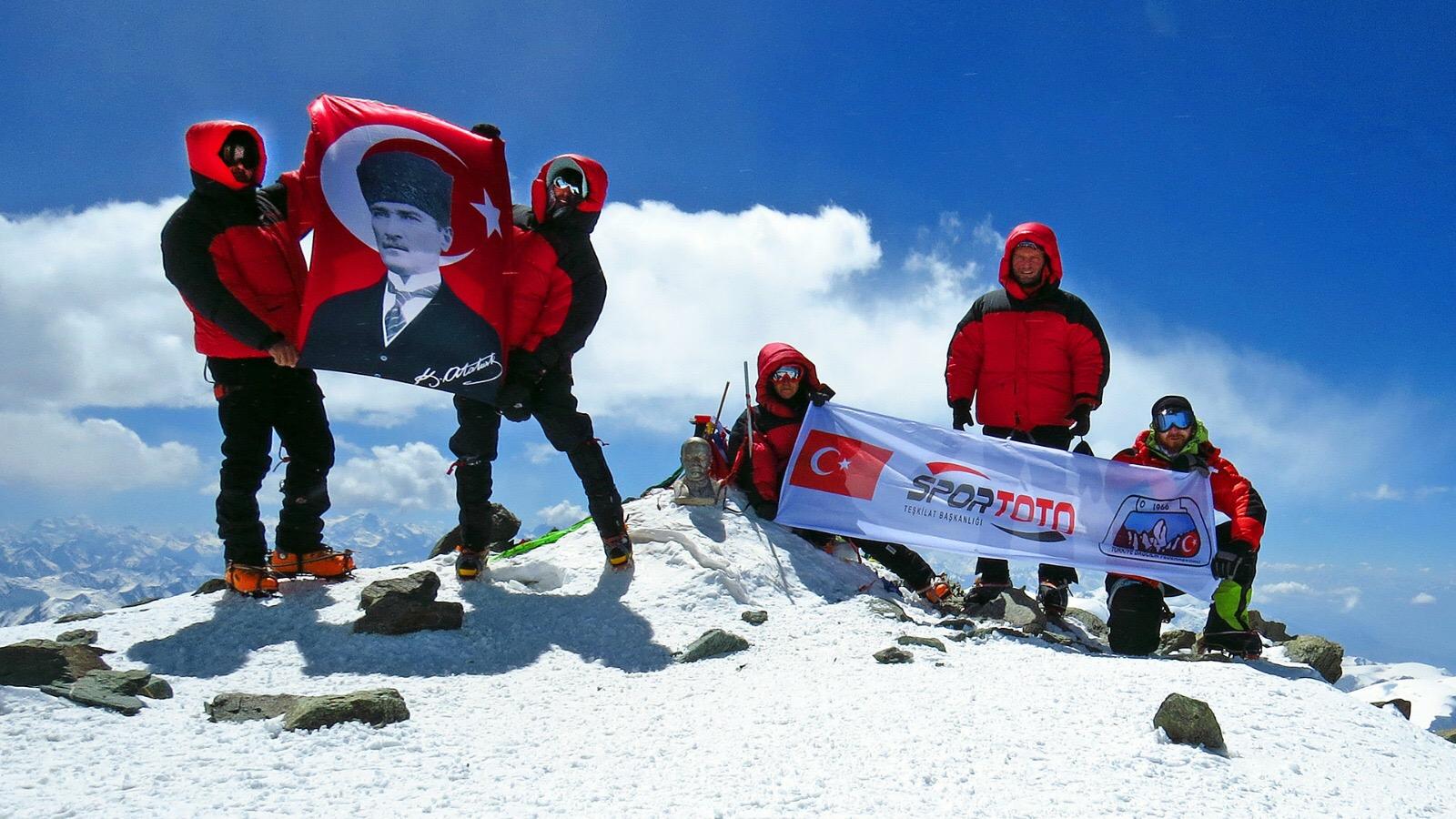 TDF 2017 Yüksek İrtifa Tırmanışları başarı ile tamamlanmıştır.