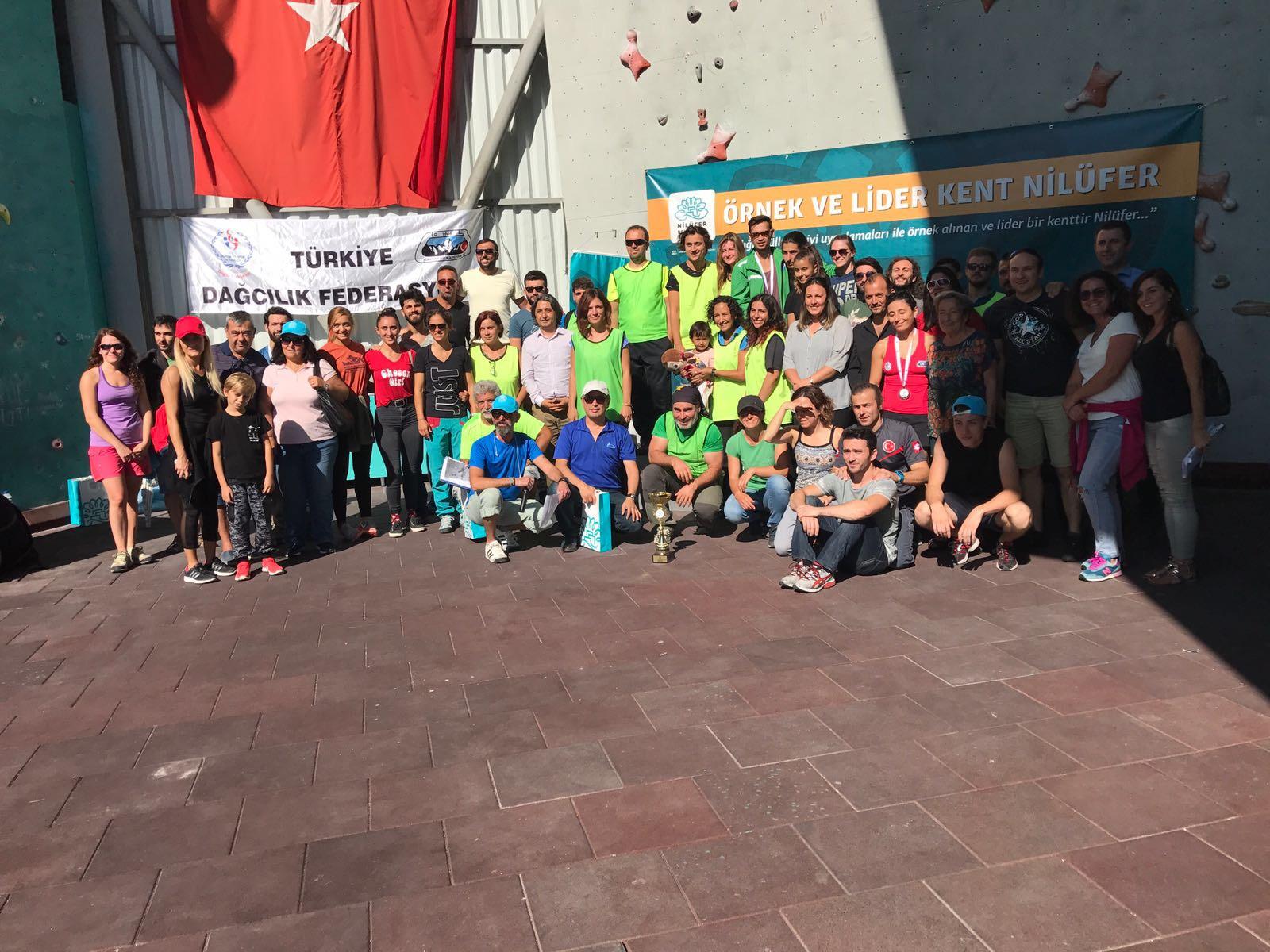 Nilüfer Belediyesi 3. Ulusal Spor Tırmanış Yarışması