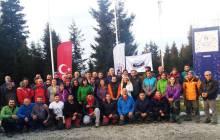 Trabzon Spor Tırmanış Hakem Semineri ve Doğan Kaya Tırmanış Festivali tamamlandı.