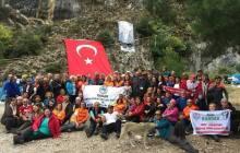 DEDAK2. Cumhuriyet Dağcılık Şenliği İzmir'de düzenlendi.