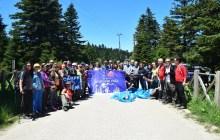 Bursa Uludağ Milli Parkı'nda Dünya Çevre Günü Etkinliği düzenlendi.