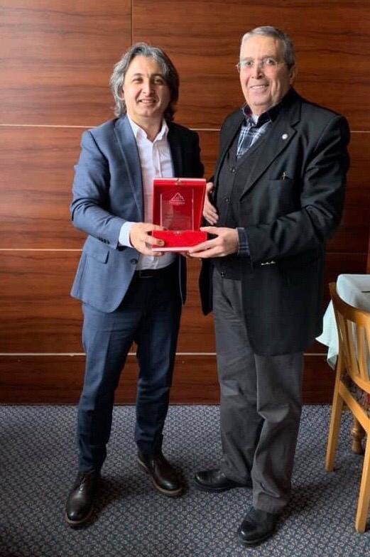 Federasyonumuz Eski Başkanlarından Ziya Mengenecioğlu'na ziyaret gerçekleştirildi.