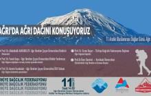 Uluslararası Dağlar Gününde Ağrı'da Ağrı Dağı Paneli düzenliyoruz.