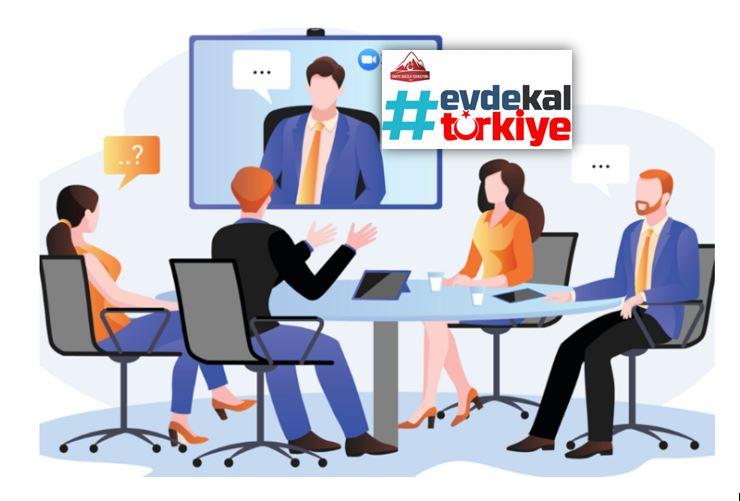 İl Temsilcileri Toplantısı Video Konferans Yöntemi İle Yapıldı