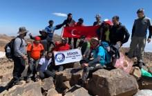 Diyarbakır ve Ağrı kulüplerimiz Süphan Dağı zirve tırmanışını gerçekleştirdi.