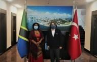 Federasyon Başkanımız Prof.Dr.Ersan BAŞAR Tanzanya Birleşik Cumhuriyeti Büyükelçiliğini Ziyaret Etti
