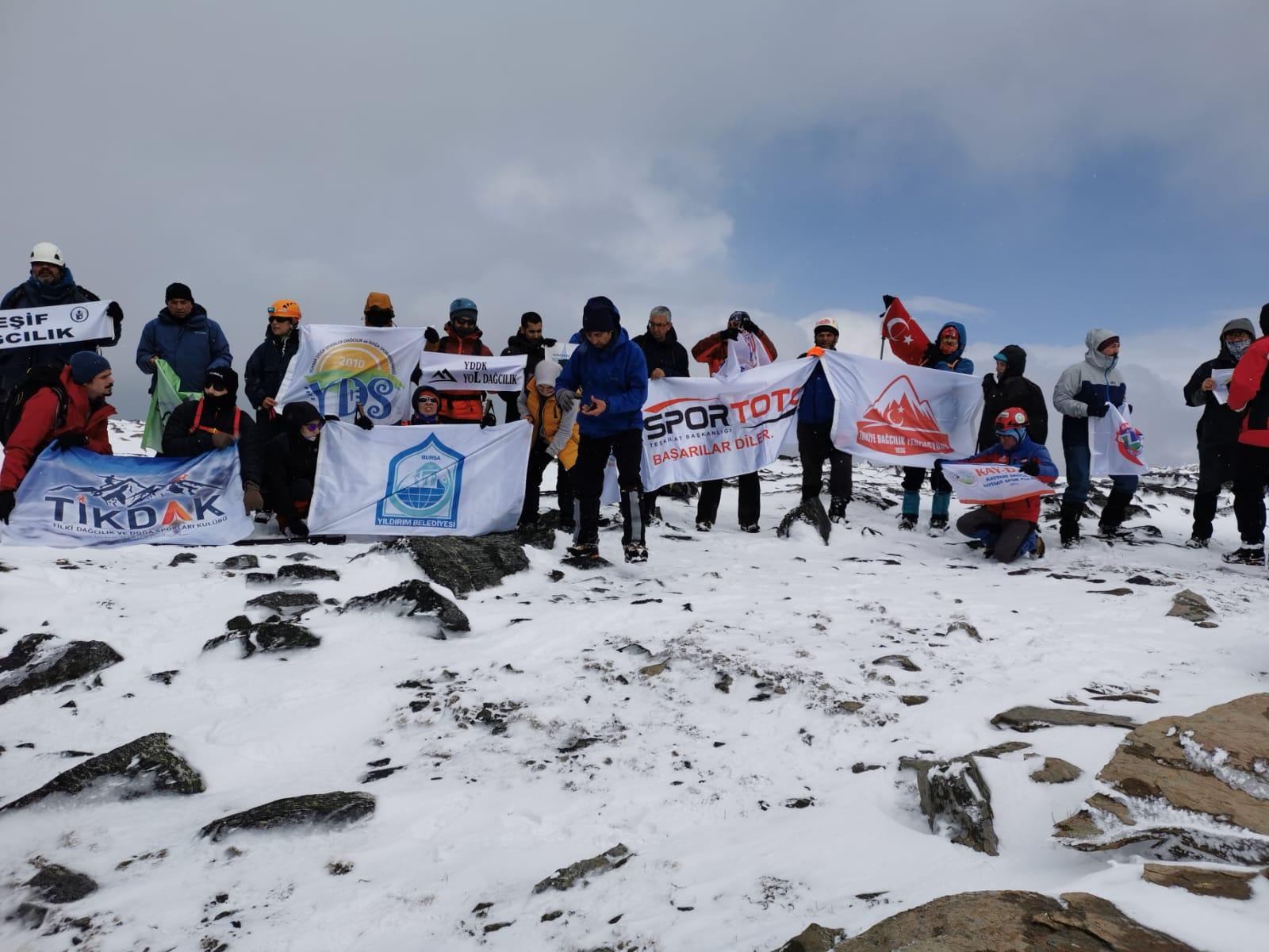 18 Mart Çanakkale Şehitleri Anma Tırmanışı Tamamlandı