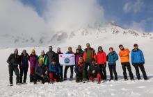 Asya Dağcılık Erciyes kış tırmanışını gerçekleştirdi.