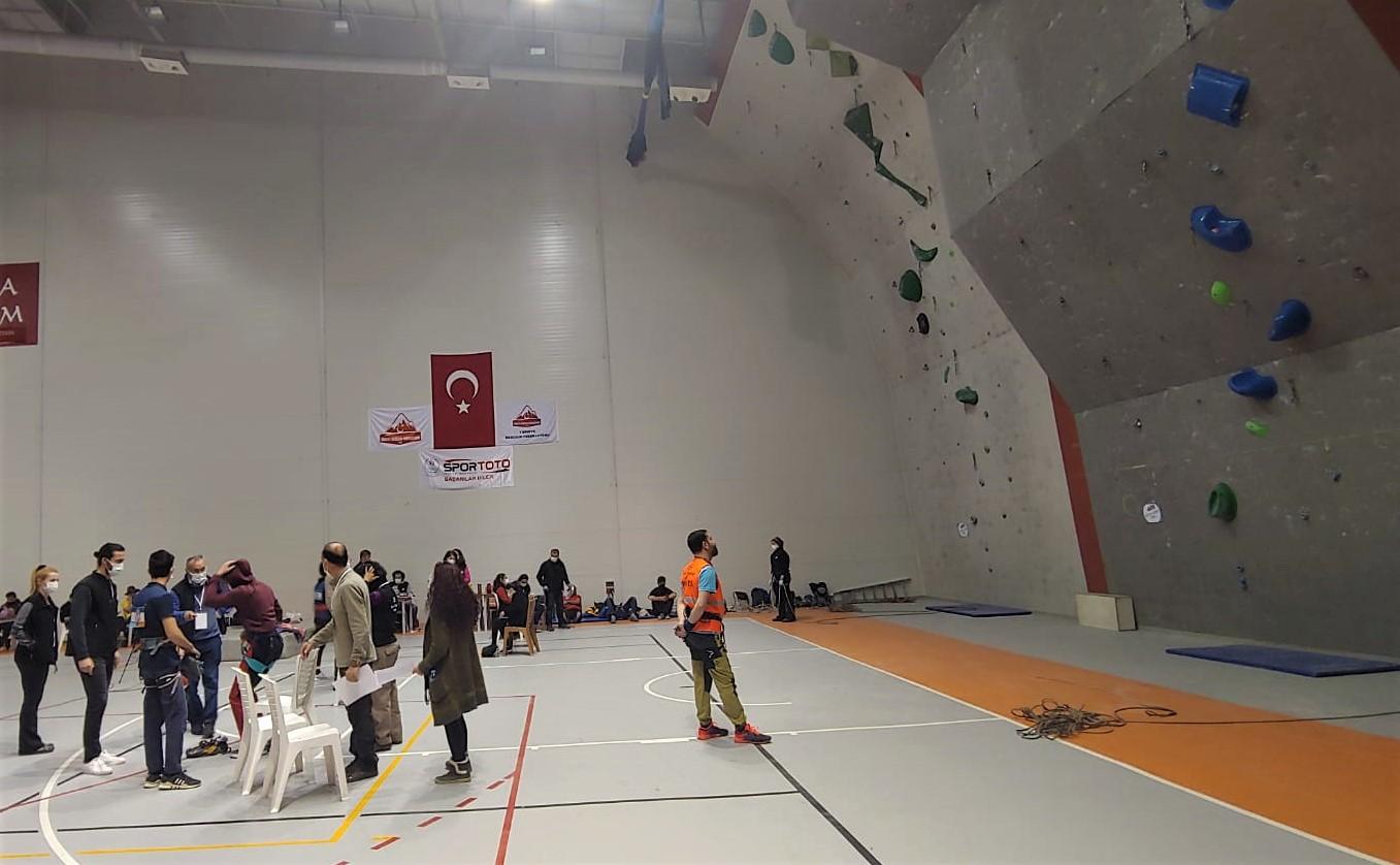Spor Tırmanış Küçükler A-B  (Lider) Türkiye Şampiyonası Sonuçları