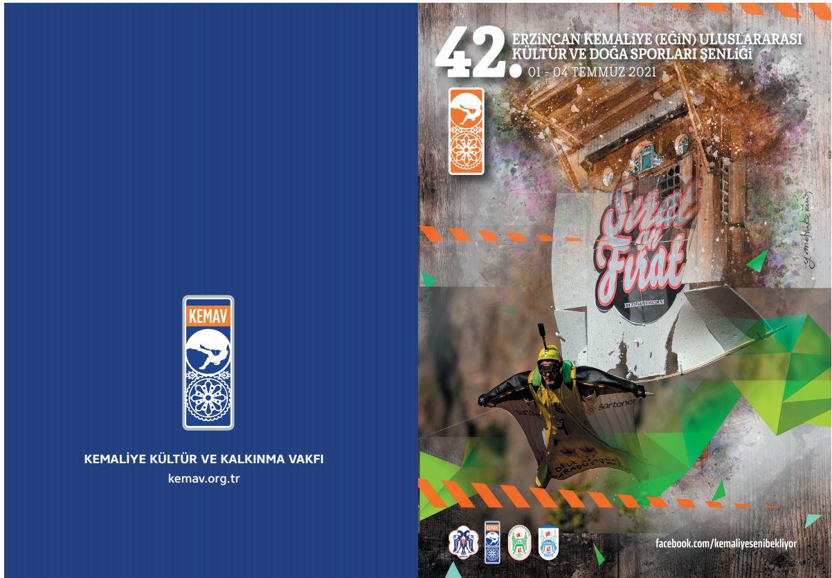 42. Erzincan Kemaliye Uluslararası Kültür ve Doğa Sporları Şenliği