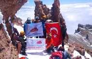 Erciyes Kuzey Buzul Rotasından Zirve Tırmanışı