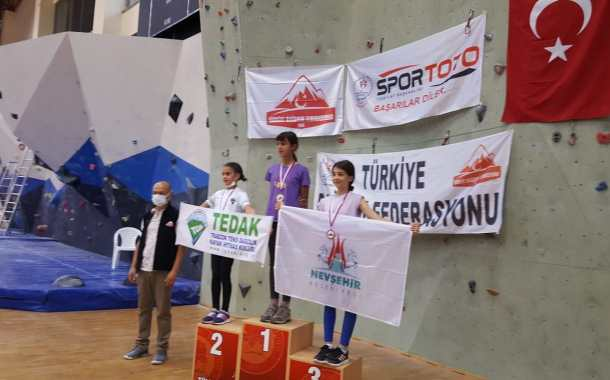 Spor Tırmanış Küçükler  C D E (Boulder) 2021 Türkiye Şampiyonası Sonuçları