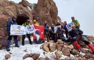 Erciyes Dağı Zirve Faaliyeti