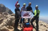 Mersin İl Temsilciliği Küçük Demirkazık Dağı zirve tırmanışını gerçekleştirdi.