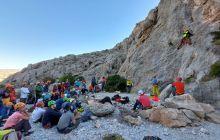 Tek İp Boylu Kaya Tırmanış Eğitimi Niğde'de Tamamlandı