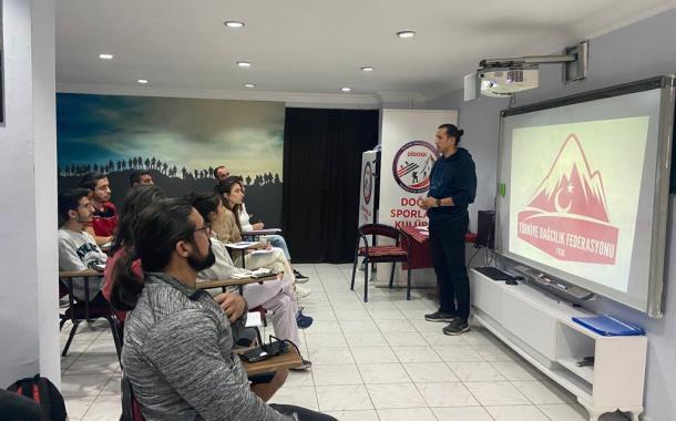Spor Tırmanış Aday Hakem Kursu Diyarbakır'da Başladı