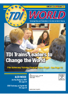 Vol. 38 Issue 4 (2007) TDI Trains Leaders to Change the World