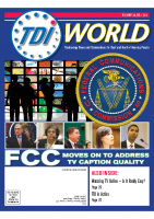 Vol. 45 Issue 1 & 2 (2014) FCC Moves on to Address TV Caption Quality