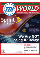 Vol. 45 Issue 3 & 4 (2014) We Are NOT Losing IP Relay