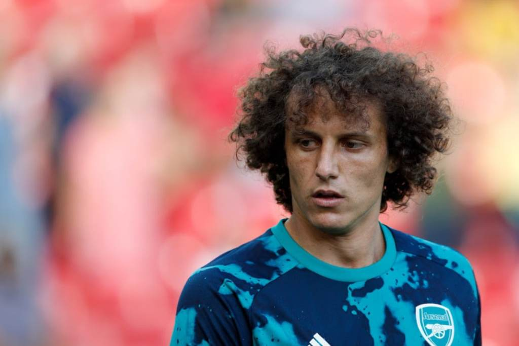 Premier League: Arsenal's David Luiz Out of Liverpool Game Due to Knee Issue