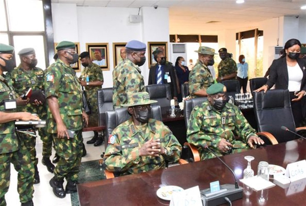 Ugwuanyi pledges maximum support for new Service Chiefs