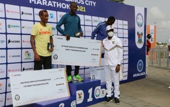 Winners Emerge At The Lagos City Marathon