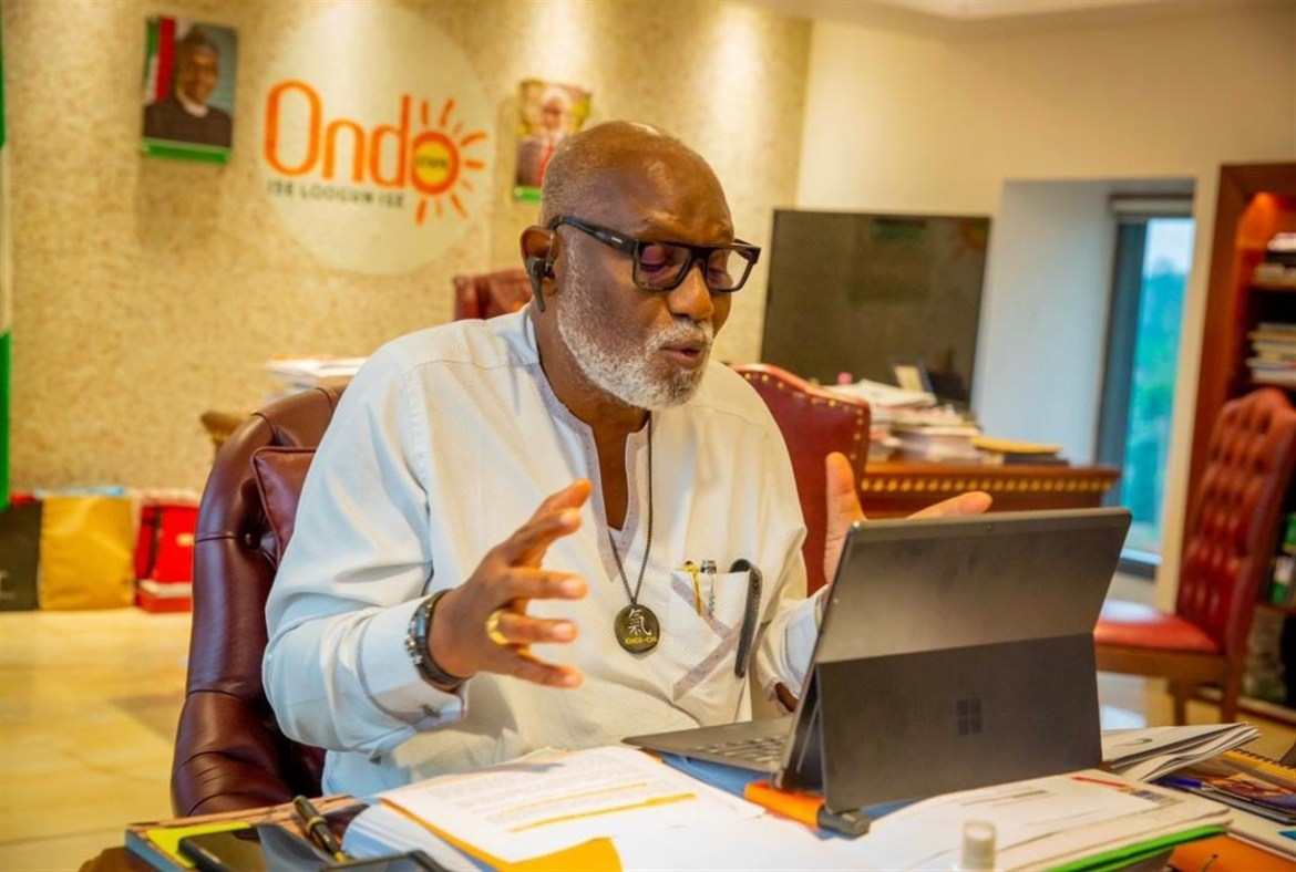 Supare/Oka Akoko Land Dispute: Gov Akeredolu Receives Committee's Report, Charges Parties To Abide By Rules