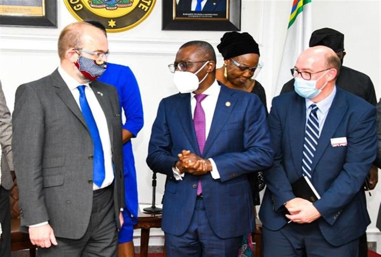 Sanwo-Olu's Closed Door Meeting With James Duddridge,UK's Minister for Africa