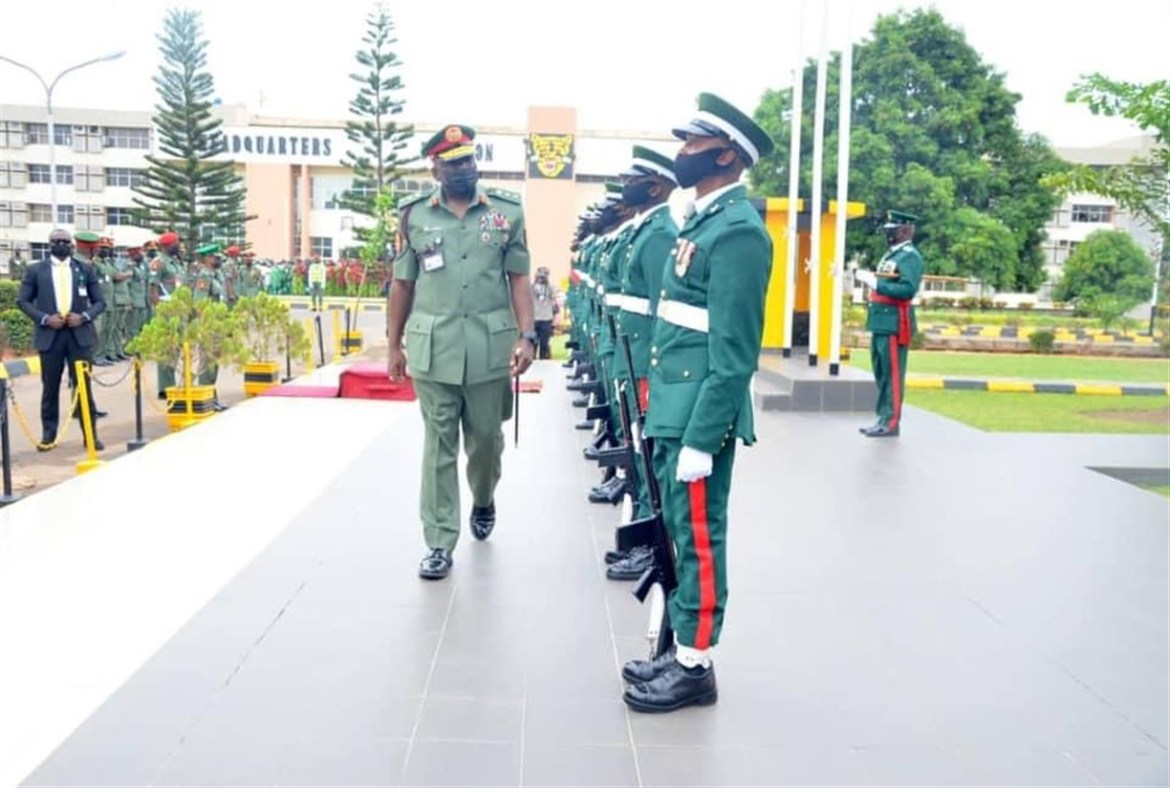 Chief Of Defence Staff Hosts New Chief Of Army Staff