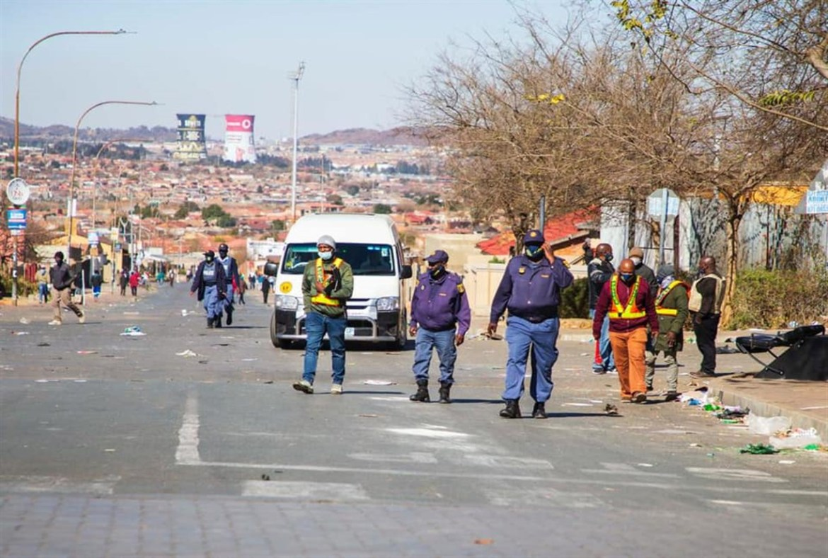 Violent riots in South Africa affects vaccine rollout, distribution of chronic meds