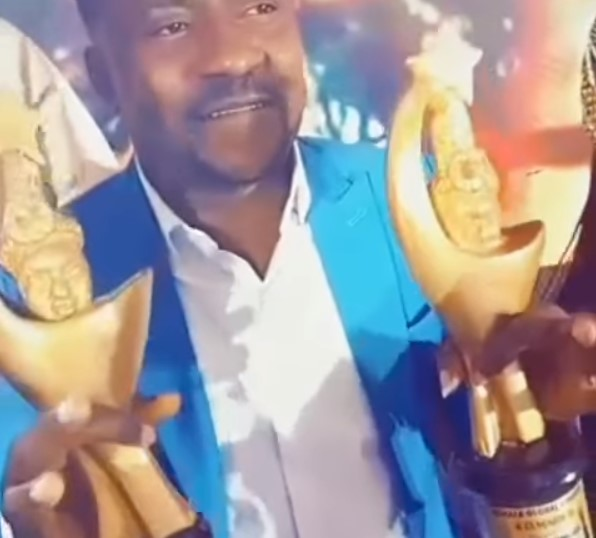 Segun Ogungbe Wins Two Awards, Celebrates On Instagram