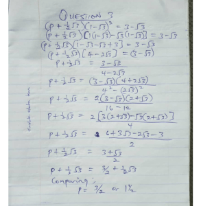 Further Maths Question And Answer - TDPel Media