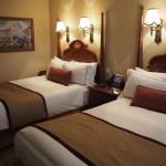 香港ディズニーランドホテル ベッド