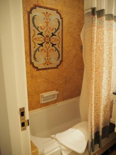 香港ディズニーランドホテル お風呂