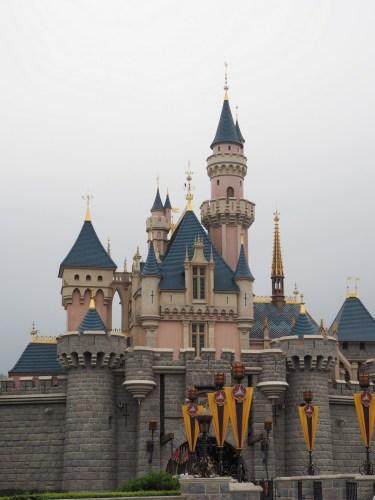 香港ディズニーランド 眠れる森の美女の城