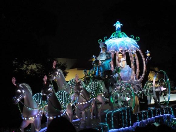 エレクトリカルパレード クリスマス シンデレラ