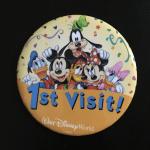 WDW セレブレーションボタン 1st Visit