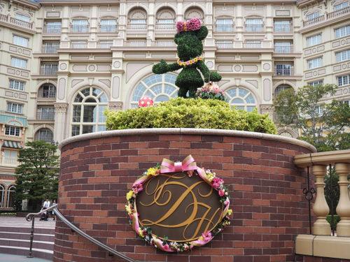 東京ディズニーランドホテル_イースターデコレーション_ミニー
