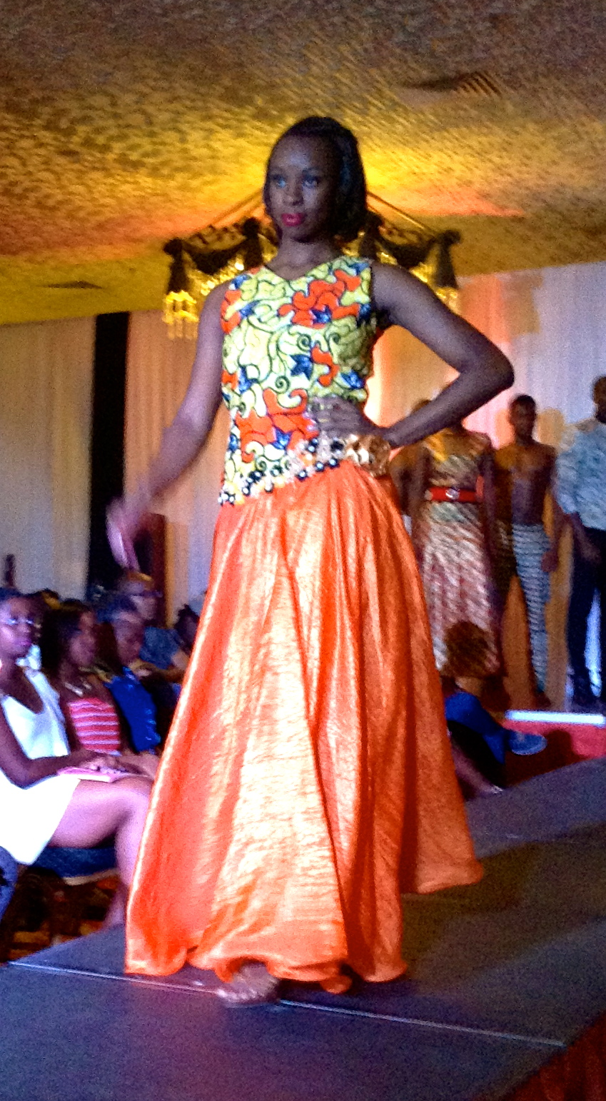 Designer by Passion Mohammed Bana on The Designers Studio Fashion in Kenya
