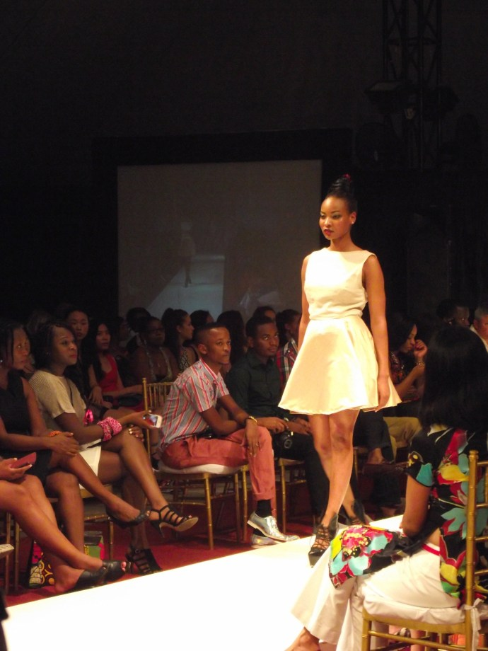 Taati Sibolile Maison at SFW2013 from Namibia