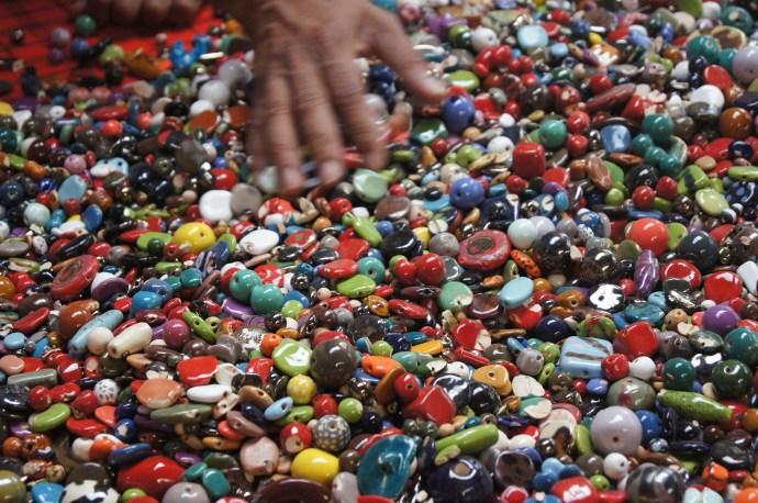 Handmade ceramic beads and jewelry in Kenya