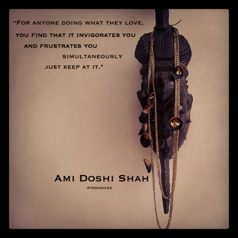 """The Devil is in the Detail"" Ami Doshi Shah's Jewellery Exploration. The Designers Studio Kenya"