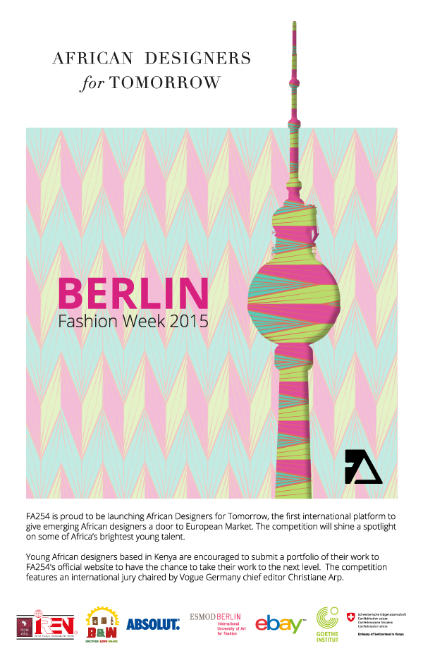 Have you applied? African Designers for Tomorrow Competition by FA254