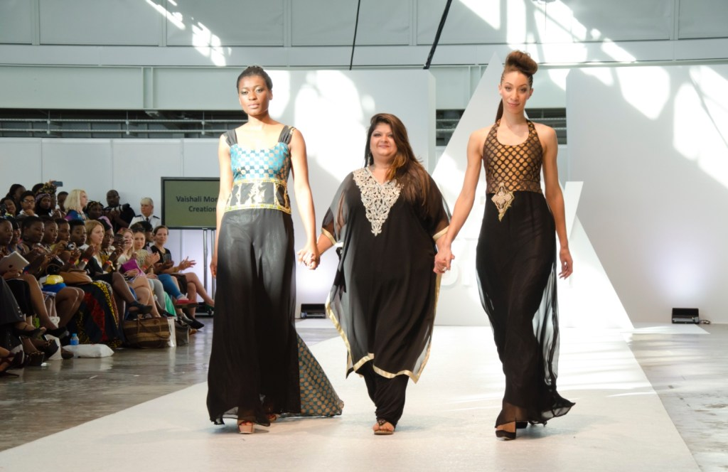 Kenya represented beautifully at AFWL 2014. Vaishali Morjaria Creations (c) AFWL 2014