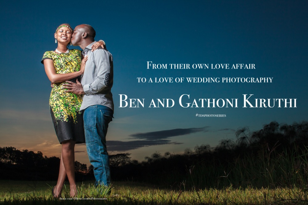 From their own love affair to a love of wedding photography...Ben Kiruthi and his beautiful wife Gathoni have built themselves a wedding photography business having grown from strength to strength and from engaged to married. What makes this couple and photography unique? God, their love for each other and capturing and sharing love stories.