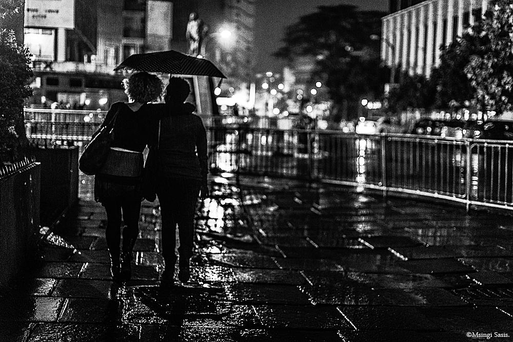 Like Little Girls In the Rain. ©Msingi Sasis. (№.002)  Nairobi Noir