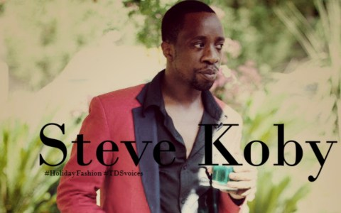 It is about talent: Steve Koby #HolidayFashion #TDSvoices