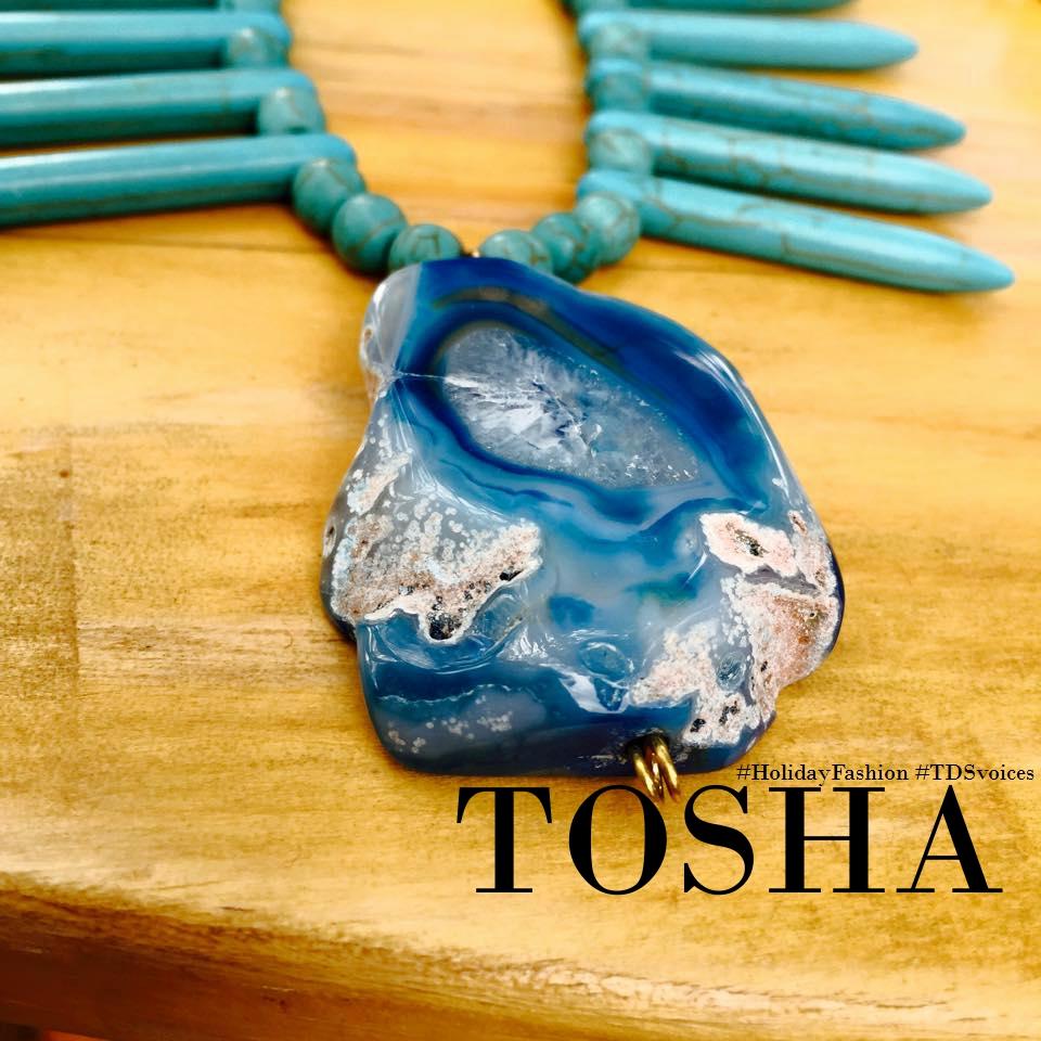 TOSHA, handmade with class #HolidayFashion #TDSvoices
