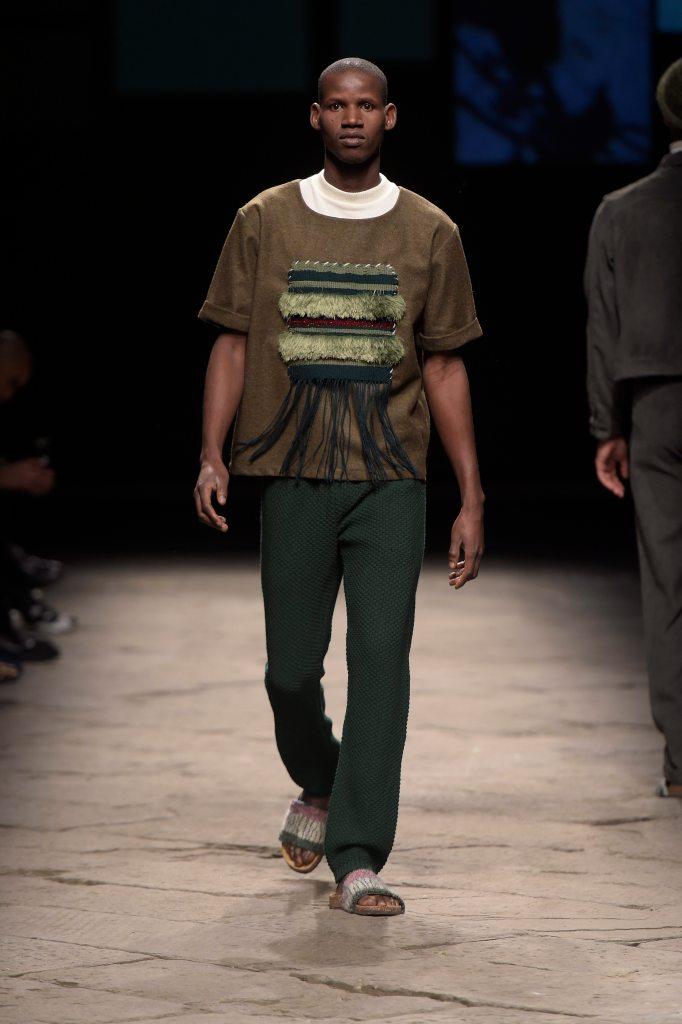 Lukhanyo Mdingi x Nicholas Coutts Look 02 Generation Africa © Giovanni Giannoni